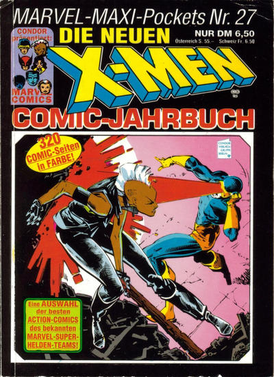 Cover for Marvel-Maxi-Pockets (Condor, 1980 series) #27