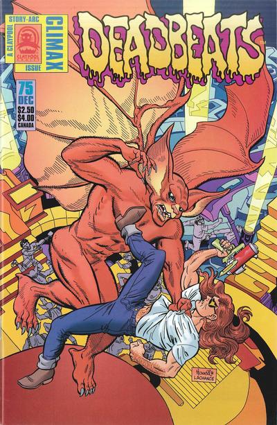 Cover for Deadbeats (Claypool Comics, 1993 series) #75
