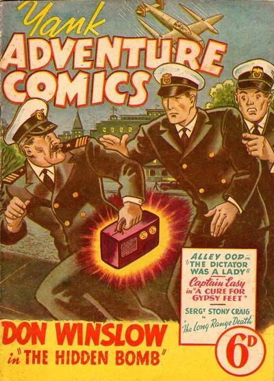 Cover for Yank Adventure Comics (Ayers & James, 1940 ? series) #[nn]