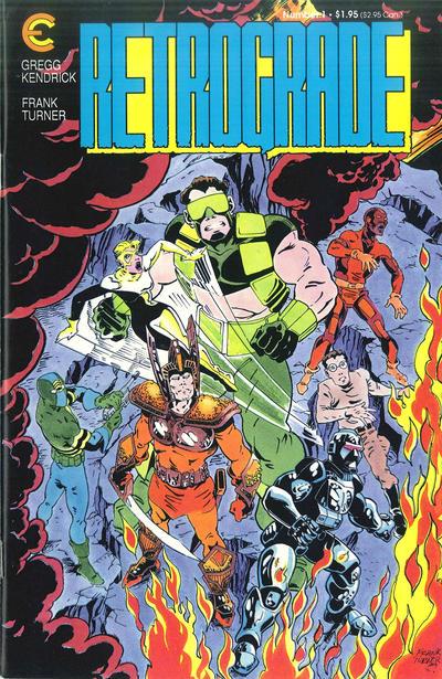 Cover for Retrograde (Eternity, 1987 series) #1