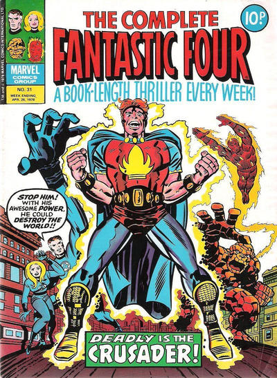 Cover for The Complete Fantastic Four (Marvel UK, 1977 series) #31