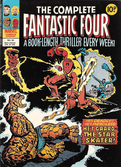 Cover for The Complete Fantastic Four (Marvel UK, 1977 series) #30