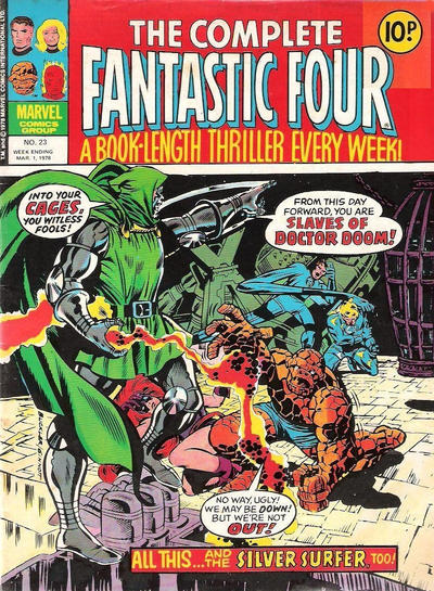 Cover for The Complete Fantastic Four (Marvel UK, 1977 series) #23