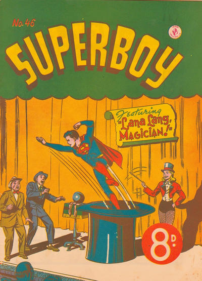 Cover for Superboy (K. G. Murray, 1949 series) #46 [Price difference]