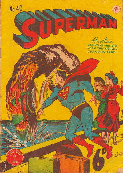 Cover for Superman (K. G. Murray, 1947 series) #40
