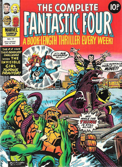 Cover for The Complete Fantastic Four (Marvel UK, 1977 series) #17