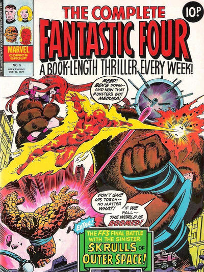 Cover for The Complete Fantastic Four (Marvel UK, 1977 series) #5