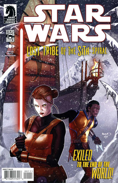 Cover for Star Wars: Lost Tribe of the Sith - Spiral (Dark Horse, 2012 series) #1