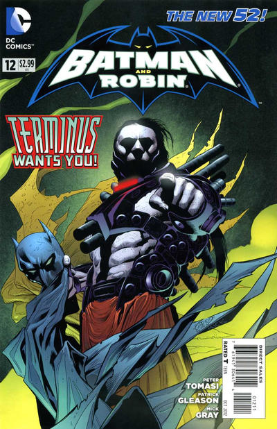 Cover for Batman and Robin (DC, 2011 series) #12
