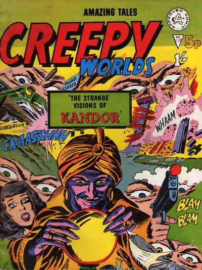 Cover for Creepy Worlds (Alan Class, 1962 series) #119