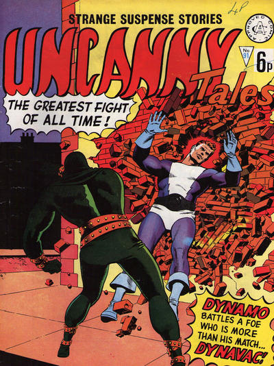Cover for Uncanny Tales (Alan Class, 1963 series) #91