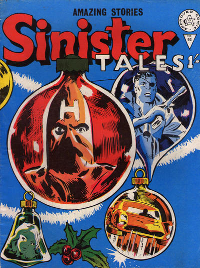Cover for Sinister Tales (Alan Class, 1964 series) #93
