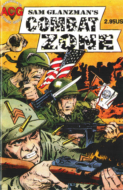 Cover for Combat Zone (Avalon Communications, 1998 series) #1
