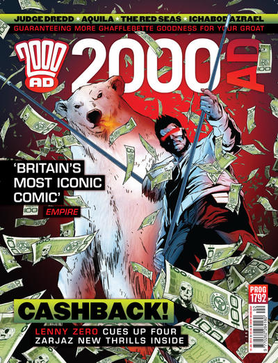 Cover for 2000 AD (Rebellion, 2001 series) #1792