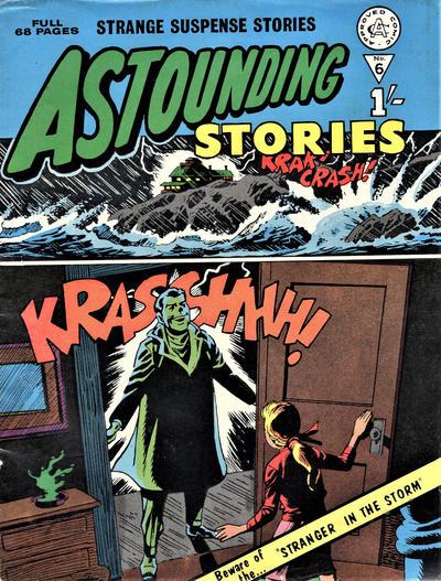 Cover for Astounding Stories (Alan Class, 1966 series) #6