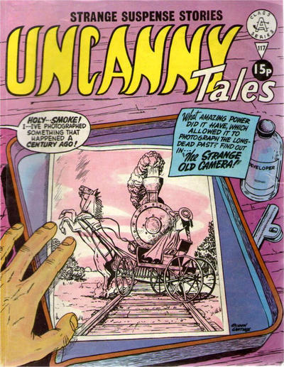Cover for Uncanny Tales (Alan Class, 1963 series) #117