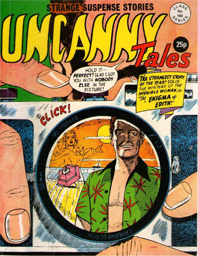 Cover for Uncanny Tales (Alan Class, 1963 series) #163