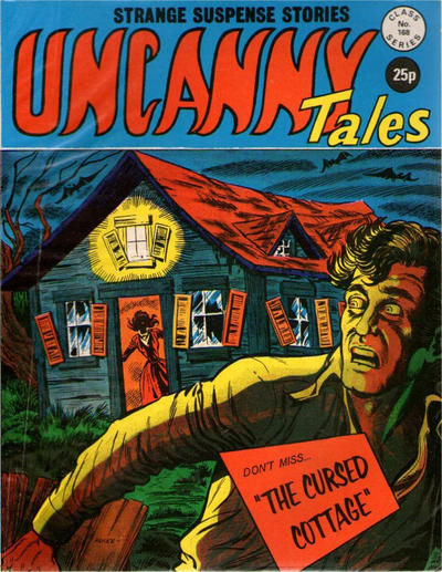 Cover for Uncanny Tales (Alan Class, 1963 series) #168