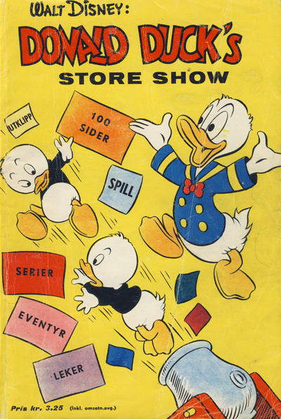 Cover for Donald Ducks Show (Hjemmet / Egmont, 1957 series) #[5] - Store show [1960]