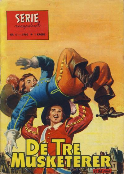 Cover for Seriemagasinet (Serieforlaget / Se-Bladene / Stabenfeldt, 1951 series) #6/1960