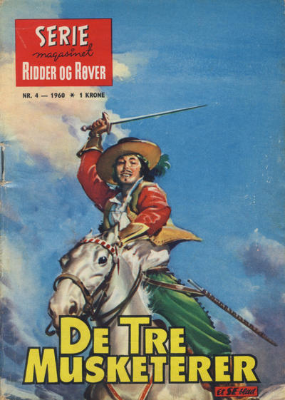 Cover for Seriemagasinet (Serieforlaget / Se-Bladene / Stabenfeldt, 1951 series) #4/1960