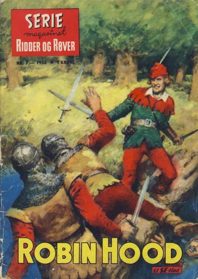 Cover for Seriemagasinet (Serieforlaget / Se-Bladene / Stabenfeldt, 1951 series) #3/1960