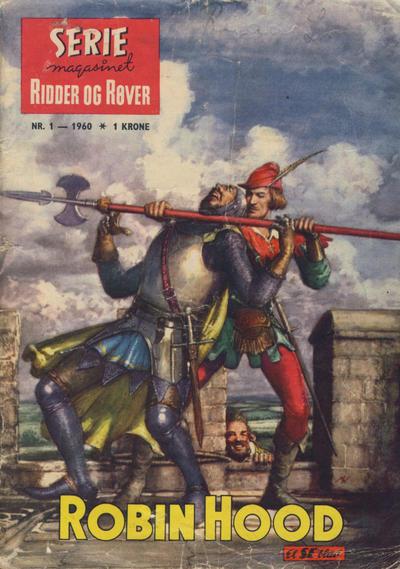 Cover for Seriemagasinet (Serieforlaget / Se-Bladene / Stabenfeldt, 1951 series) #1/1960