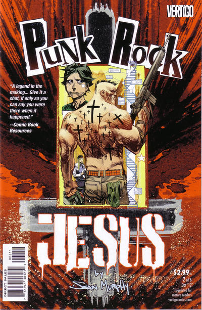 Cover for Punk Rock Jesus (DC, 2012 series) #2