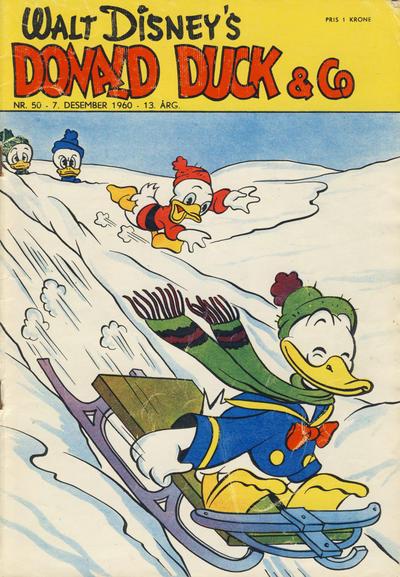 Cover for Donald Duck & Co (Hjemmet / Egmont, 1948 series) #50/1960
