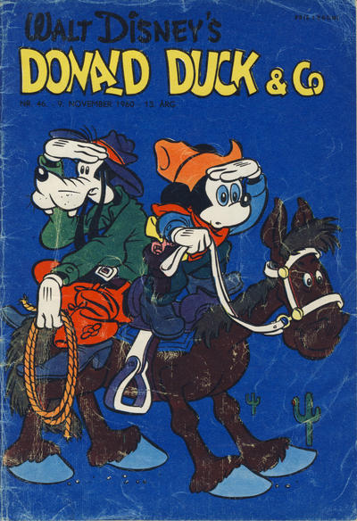 Cover for Donald Duck & Co (Hjemmet / Egmont, 1948 series) #46/1960
