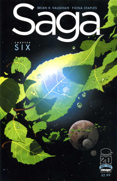 Cover for Saga (Image, 2012 series) #6 [Second Printing]