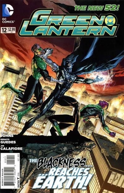 Cover for Green Lantern (DC, 2011 series) #12 [Doug Mahnke Cover]