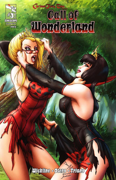 Cover for Grimm Fairy Tales Presents Call of Wonderland (Zenescope Entertainment, 2012 series) #3 [Cover A]