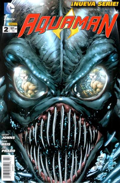 Cover for Aquaman (Editorial Televisa, 2012 series) #2