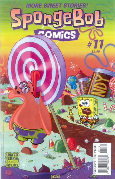 Cover for SpongeBob Comics (United Plankton Pictures, Inc., 2011 series) #11