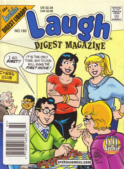 Cover for Laugh Comics Digest (Archie, 1974 series) #180 [Direct Edition]