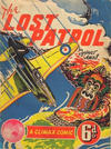 Cover for A Climax Comic —The Lost Patrol (K. G. Murray, 1946 ? series) #[nn]