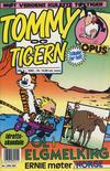 Cover for Tommy og Tigern (Bladkompaniet / Schibsted, 1989 series) #8/1992