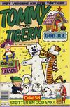 Cover for Tommy og Tigern (Bladkompaniet / Schibsted, 1989 series) #12/1992