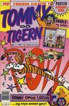 Cover for Tommy og Tigern (Bladkompaniet / Schibsted, 1989 series) #1/1993