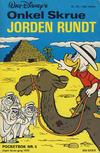 Cover for Donald Pocket (Hjemmet / Egmont, 1968 series) #5 - Onkel Skrue jorden rundt [2. opplag]