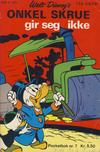 Cover for Donald Pocket (Hjemmet / Egmont, 1968 series) #7 - Onkel Skrue gir seg ikke [1. opplag]