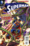 Cover for Superman (DC, 2011 series) #12