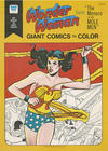 """Cover for Wonder Woman Faces """"The Menace of the Mole Men"""" [Giant Comics to Color] (Western, 1975 series)"""