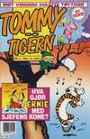 Cover for Tommy og Tigern (Bladkompaniet / Schibsted, 1989 series) #4/1993