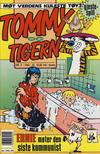 Cover for Tommy og Tigern (Bladkompaniet / Schibsted, 1989 series) #3/1993