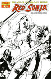 Cover Thumbnail for Red Sonja (2005 series) #18 [Gene Ha Retailer Incentive Sketch Cover]
