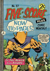 Cover for Five-Score Plus Comic Monthly (K. G. Murray, 1960 series) #37