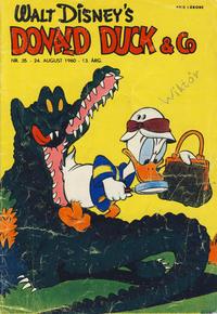 Cover Thumbnail for Donald Duck & Co (Hjemmet / Egmont, 1948 series) #35/1960
