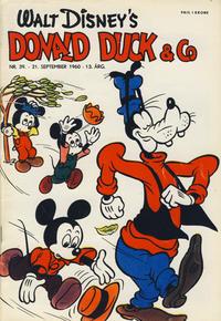 Cover Thumbnail for Donald Duck & Co (Hjemmet / Egmont, 1948 series) #39/1960